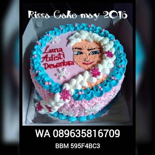 Jual Kue Ulang Tahun Tema Frozen Kdpang Kab Sidoarjo Rissa Cake N Cookies Tokopedia