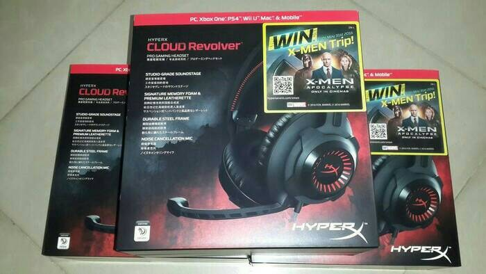 harga Promo kingston hyperx cloud revolver gaming headset Tokopedia.com