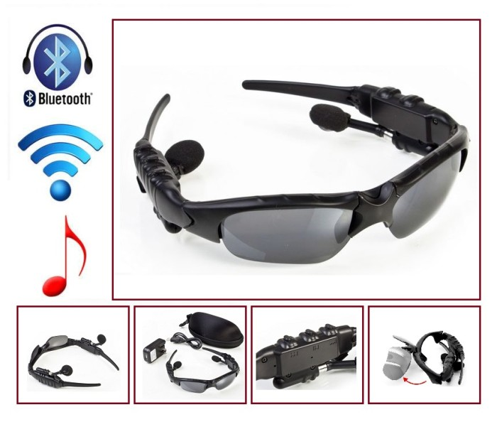 Kacamata Speaker Stereo Musik  Sunglasses Bluetooth Music Handsfree 1d380bc001