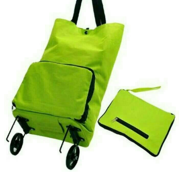 harga Troley Bag Korean Foldable Tokopedia.com