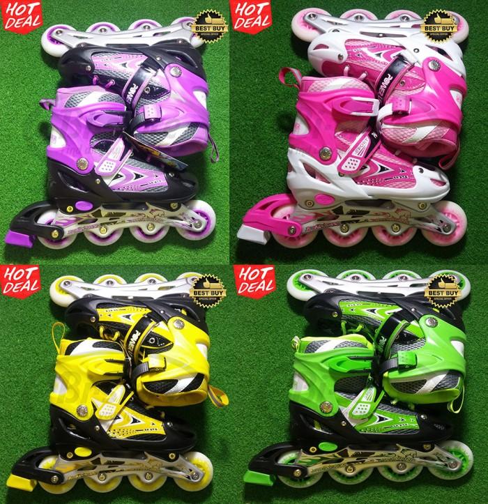 harga Sepatu roda inline skate power line 6032 murah mantap Tokopedia.com