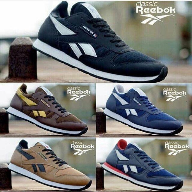 371b2e72982 Sepatu reebok classic ( sepatu cowok )