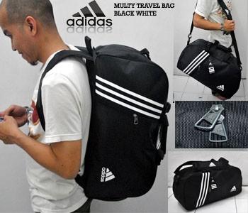 Travel Bag 3 in 1 Adidas Hitam. Toko dalam status moderasi 97c2a8fad6