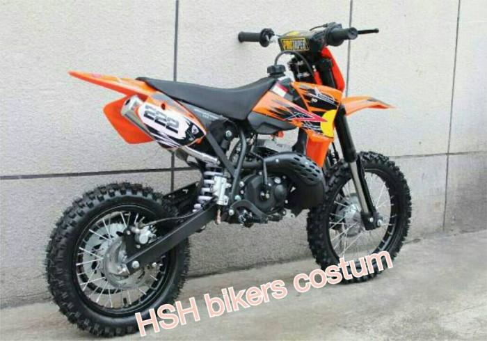 Jual Motor Anak Motor Mini Trail 50cc Se Hsh Bikers Costum Tokopedia