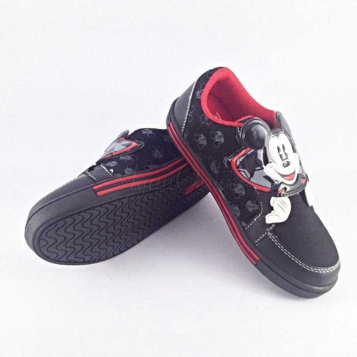 Disney Anak Laki Laki Dan Perempuan Mickey Sepatu Casual Anak Anak ... 6fa7a17423