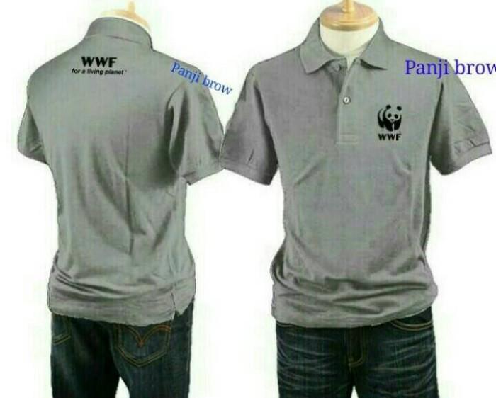 kaos kerah/ polo shirt WWF XXXL