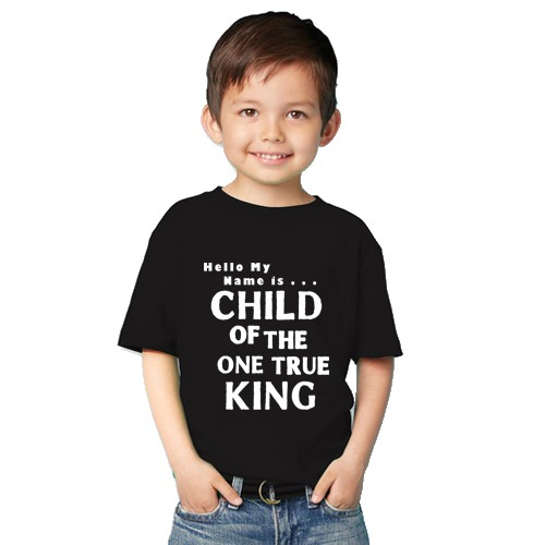 harga Kaos anak rohani kristen kristiani child of king Tokopedia.com