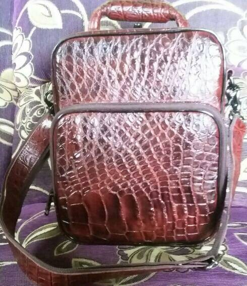 Jual Tas komando asli kulit buaya papua - bejuall  505d005e50