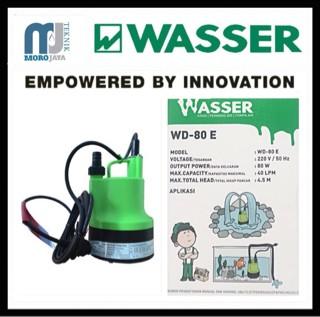 Pompa Celup Wasser WD-80E Submerible Pump 80watt