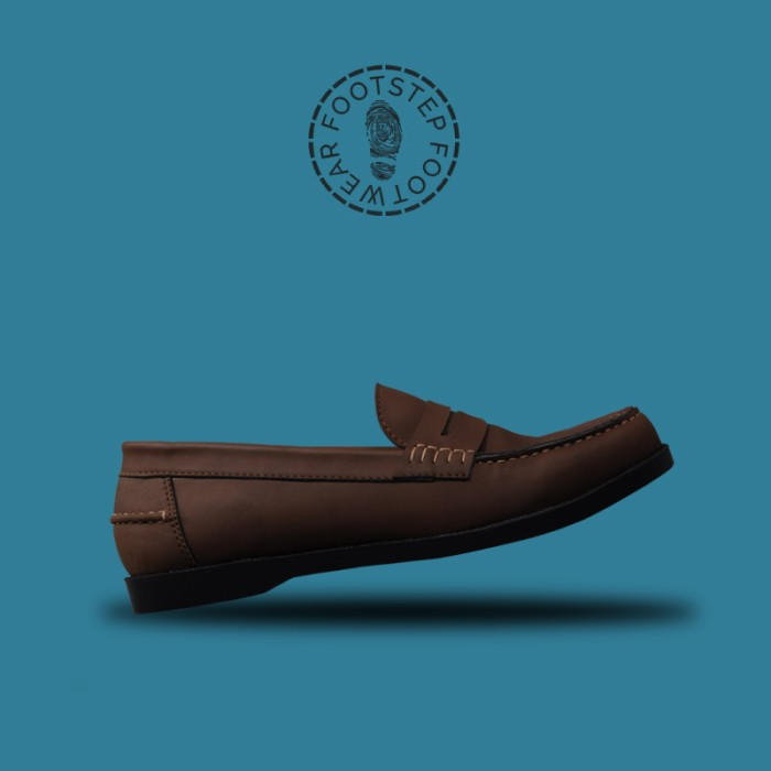 a5e8d0817d3 Jual Sepatu Formal Pantofel Loafer Pria Paradise Brown - Footstep ...