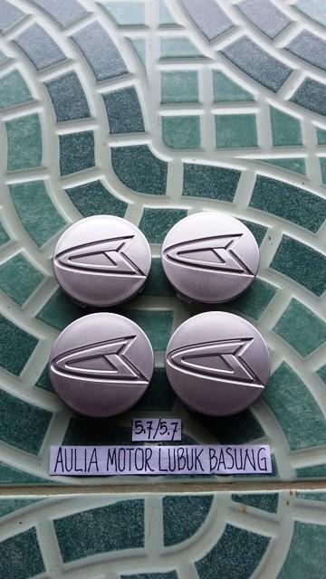 harga Dop center / velg daihatsu kaki 5,7 cm xenia terios dll silver (set=4) Tokopedia.com