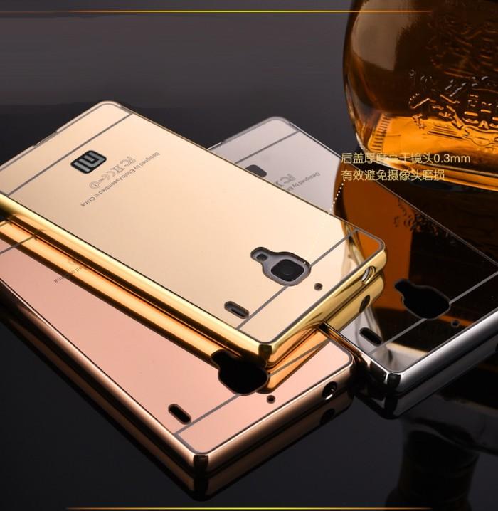 check out 368cf 4ebf3 Jual Bumper Mirror Case Xiaomi Redmi Note 1- Casing Hard Back Case Cover -  DKI Jakarta - Happy Belanja | Tokopedia