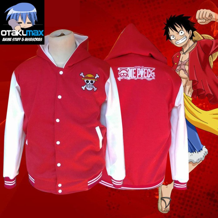 Jual Jaket Anime Kapten Bajak Laut Topi Jerami Monkey D Luffy One Piece Kab Sleman Otakumax Tokopedia
