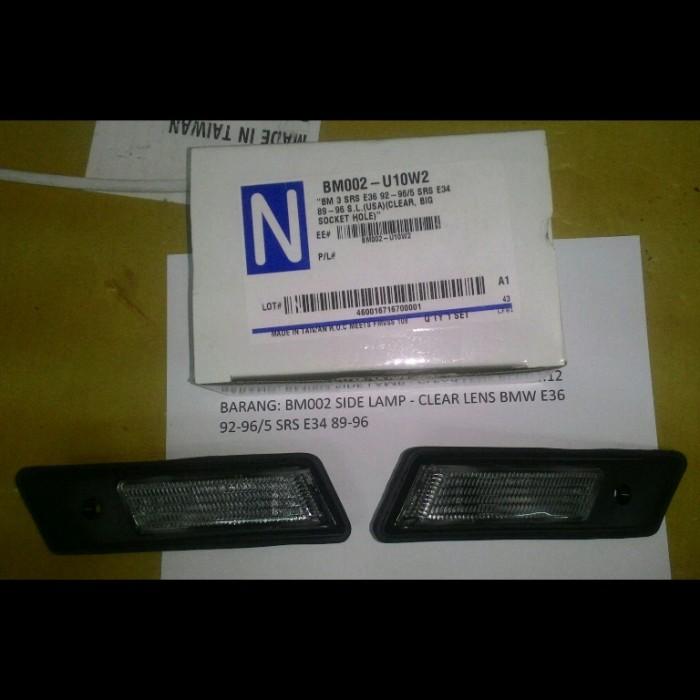 harga Bm002-u10w2 bmw e36 92-96/5 srs e34 89-96 - side lamp Tokopedia.com