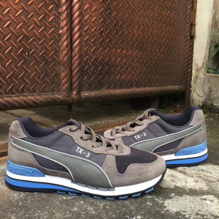 wholesale dealer 4cf91 0471e australia sepatu puma tx 3 modern tech original grey blue 2ca43 89ac1