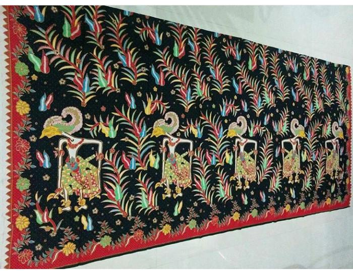 Jual kain batik katun print wayang - BATIK NONIK  bbcc47484b