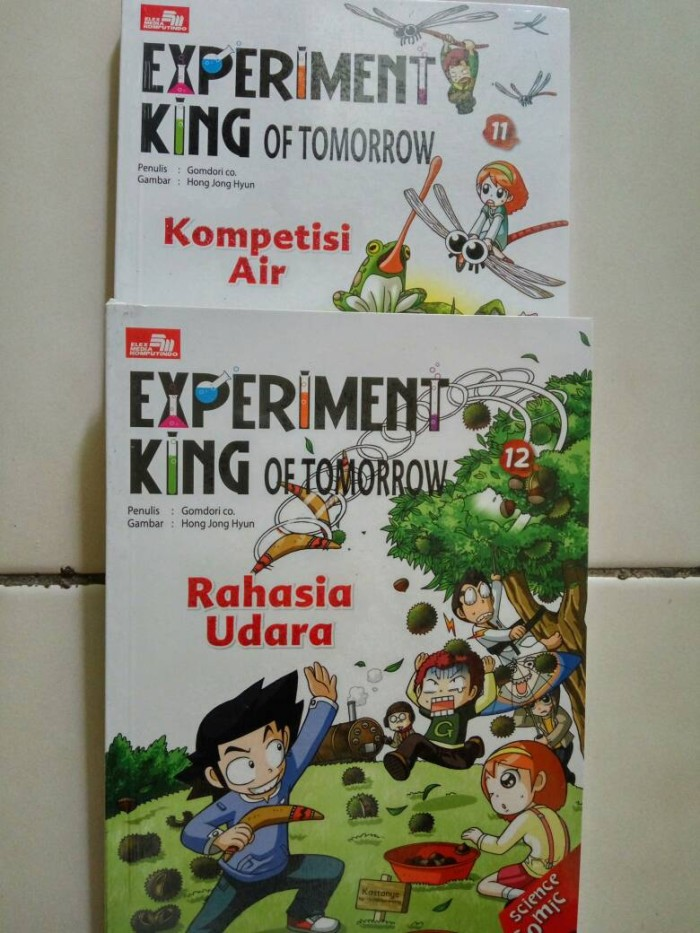 harga Experiment king of tomorrow Tokopedia.com