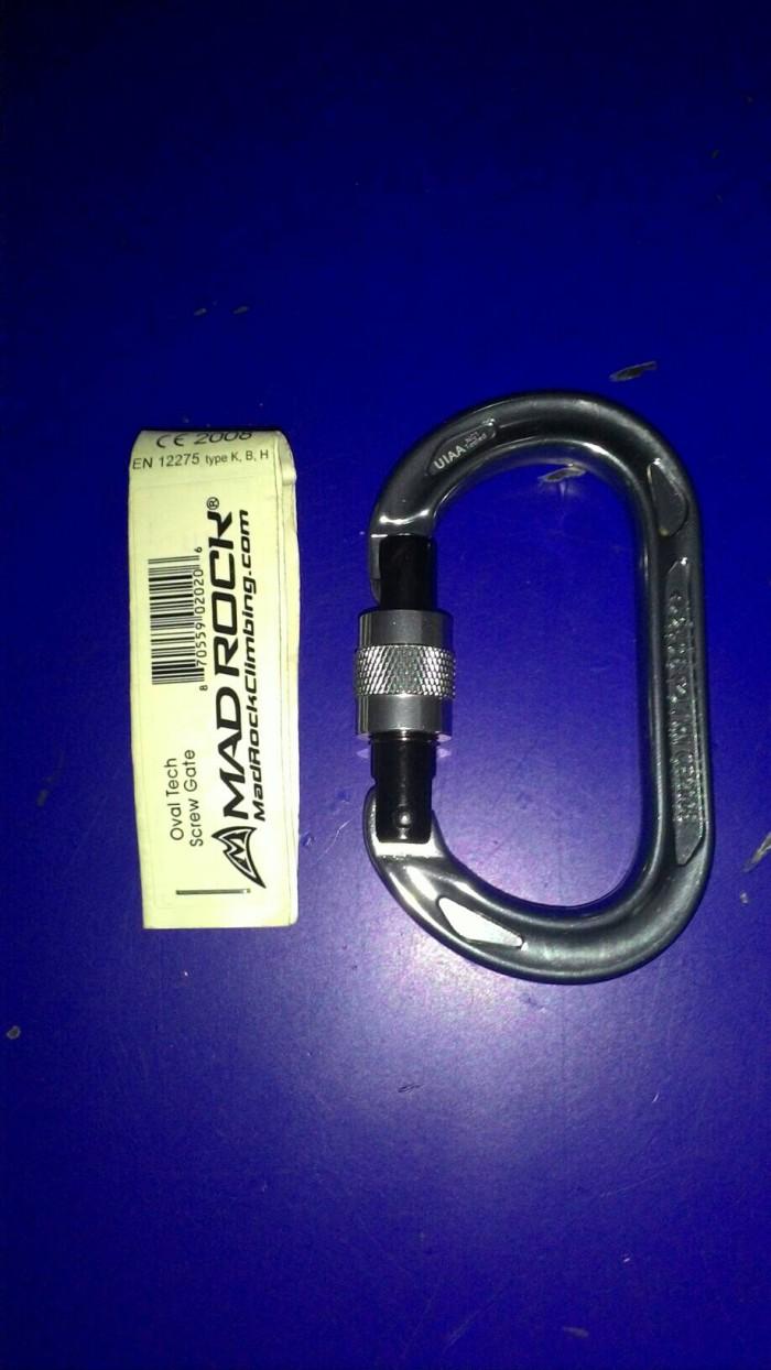 harga Carabiner Screw Madrock Tokopedia.com