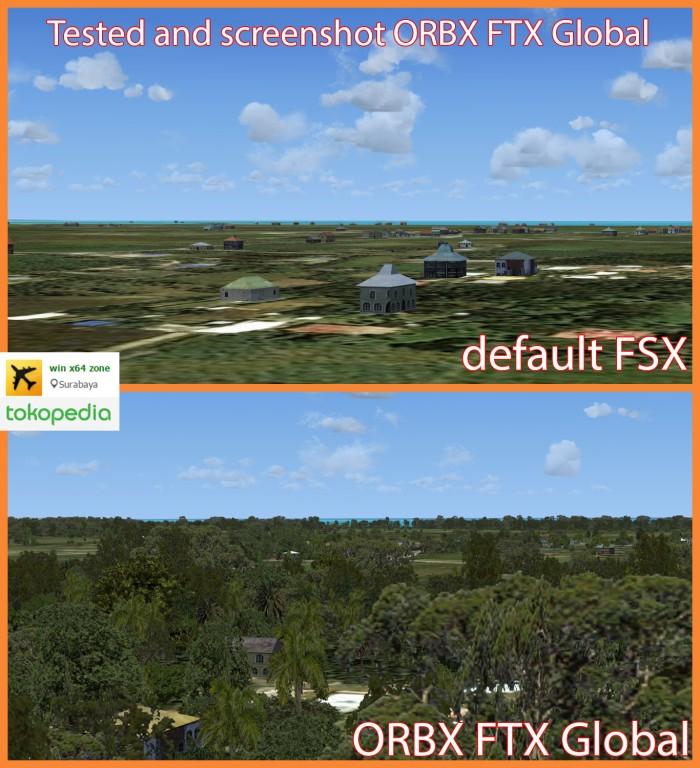 Jual addon untuk fsx - ORBX FTX Global - Kab  Sidoarjo - win x64 zone |  Tokopedia