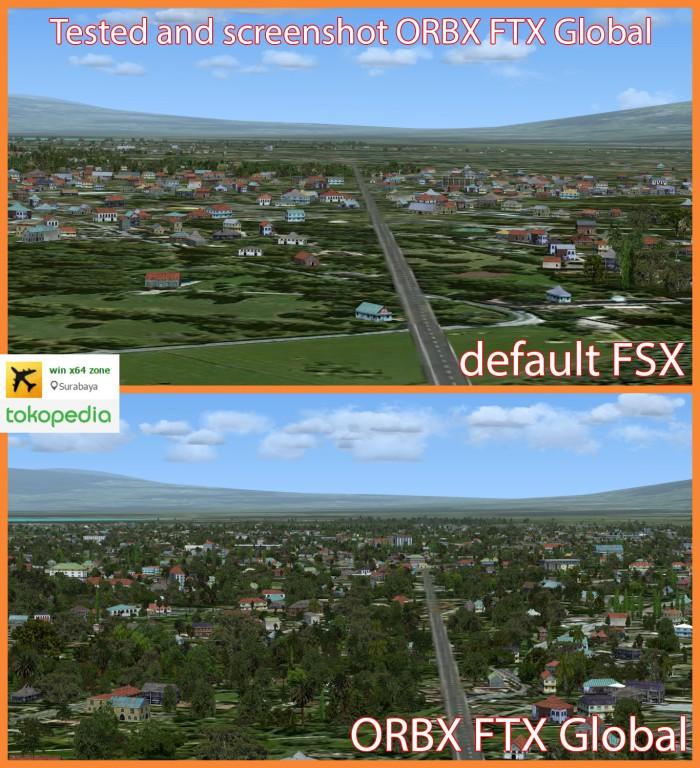 Jual addon untuk fsx - ORBX FTX Global - Kab  Sidoarjo - win x64 zone    Tokopedia