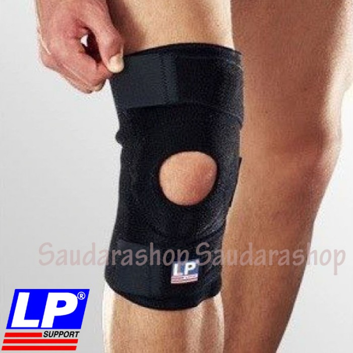 ... LP support Knee Support Open Patella LP 758 Decker Lutut Standard