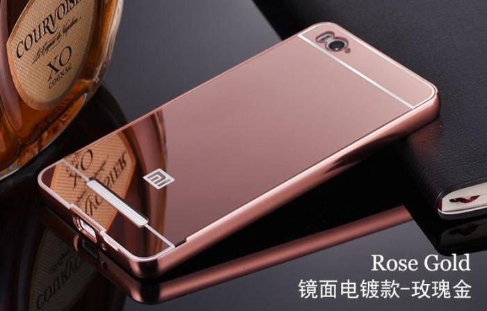 harga Xiaomi 5 | redmi 5 | bumper plat mirror | backcase | hardcase | cover Tokopedia.com