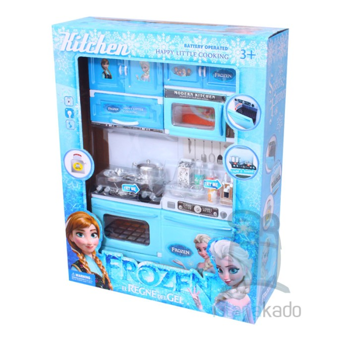 Jual Mainan Kitchen Set Frozen Elsa Anna Istana Kado Online