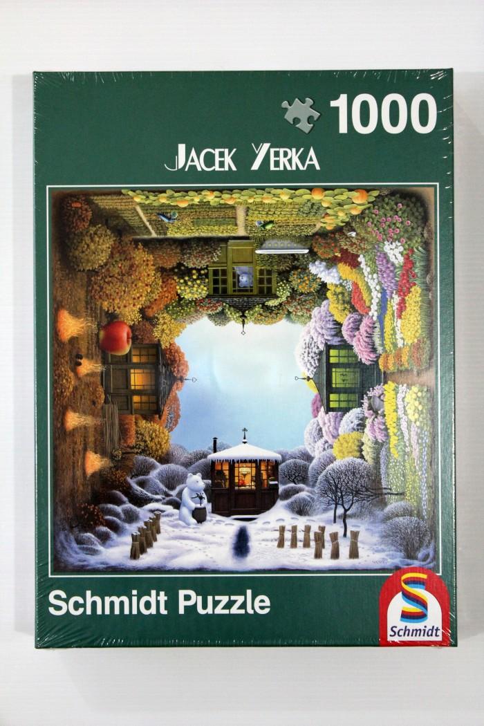 harga Jigsaw Puzzle Schmidt : Four Seasons Garden - 1000 Pieces Tokopedia.com