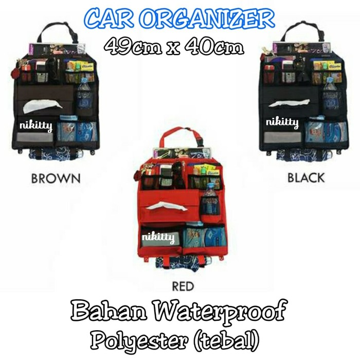 harga Car organizer Tokopedia.com
