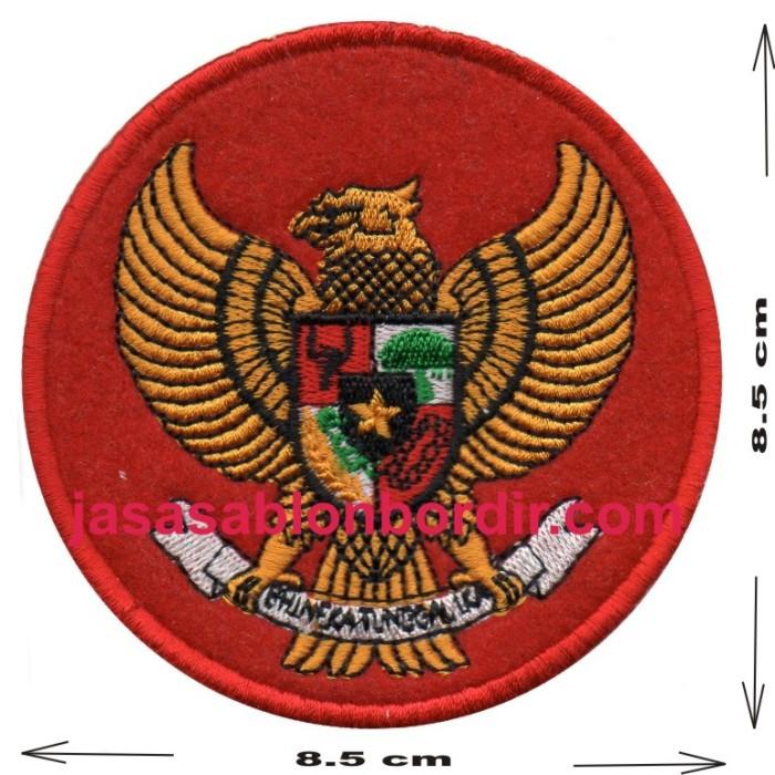 Jual Emblem Burung Garuda Jakarta Barat Jasa Sablon Bordir