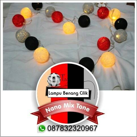 Jual Lampu hias, Lampu tidur benang *Nano Mix Tone* - Kota Semarang - Lampu  Benang Cilik | Tokopedia