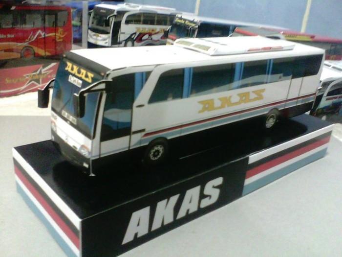 Jual Miniatur Bus Akas Kota Bandung Popoy Shoop Tokopedia