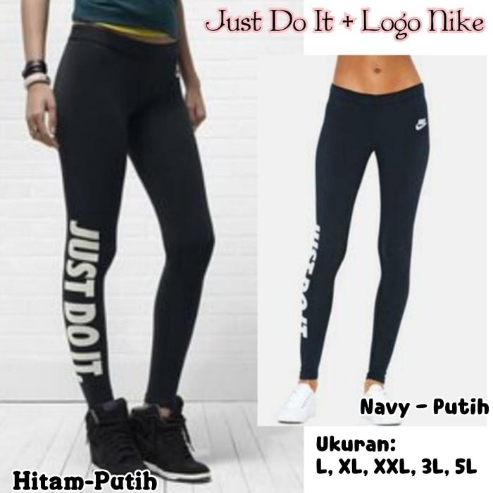 harga Sport legging just do it + logo nike kecil Tokopedia.com