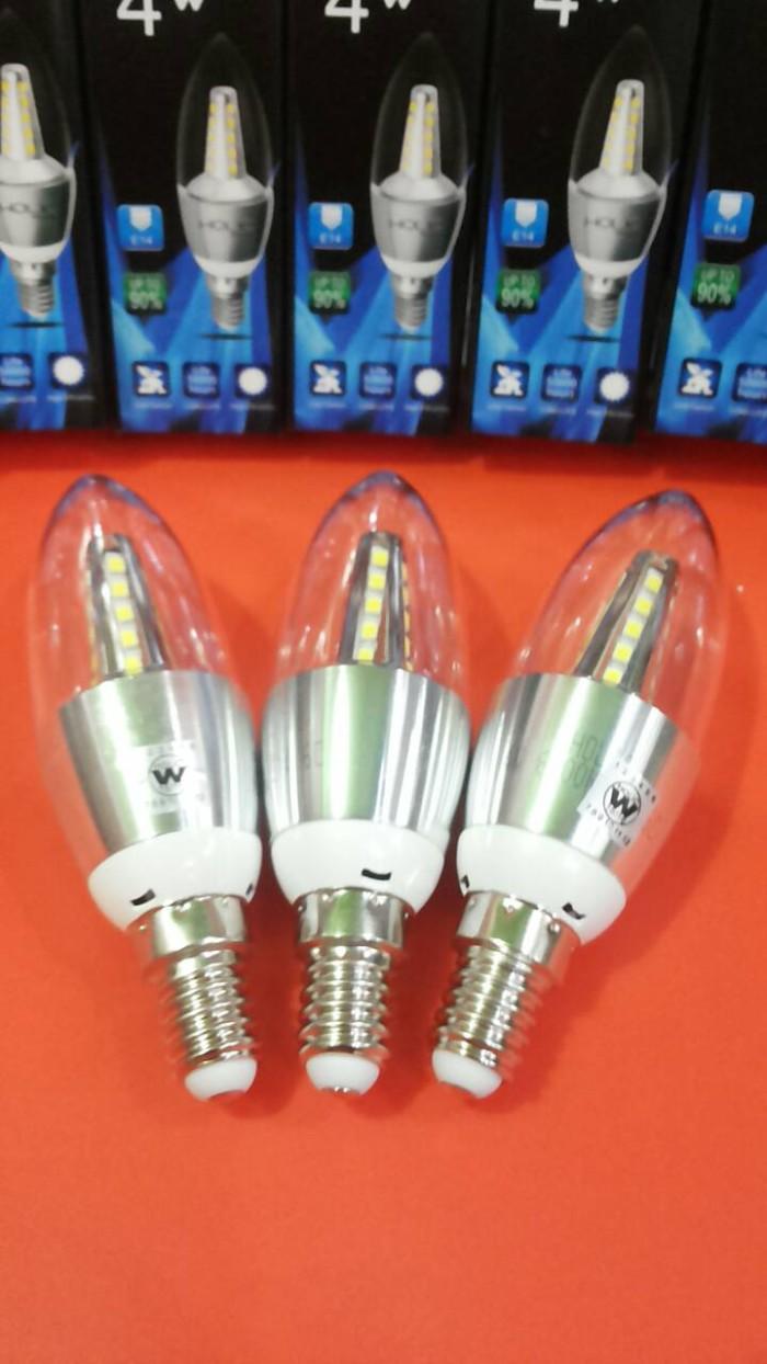 harga Lampu led candle 4 watt holic (putih) fitting e14 hias / gantung Tokopedia.com
