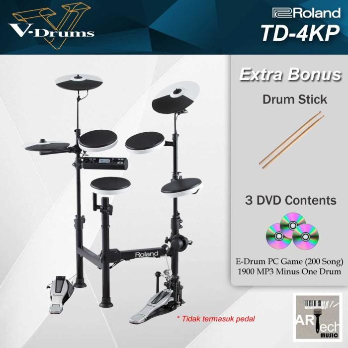 harga Drum elektrik roland td4kp / td 4kp / td4 kp vdrums Tokopedia.com