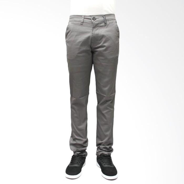 Foto Produk Oliveinch Long Chino Grey Celana Pria dari KELONTONGAN