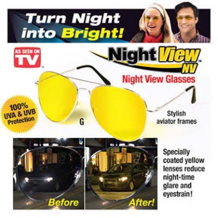 Jual Night View Glasses   Kacamata Anti Silau As Seen On Tv ORIGINAL ... 4414fabbb5