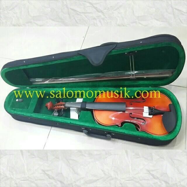 biola violin vienna solid wood 1/4 1/2 3/4 4/4
