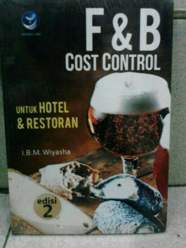 harga F & b cost control untuk hotel dan restoran Tokopedia.com