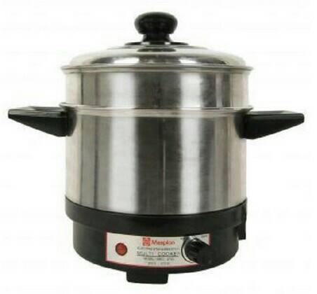 Panci listrik / multi cooker maspion mec-2750 alat masak serbaguna