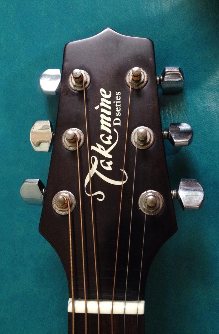 Jual Gitar Akustik TAKAMINE ED51C Original Harga Baru 399
