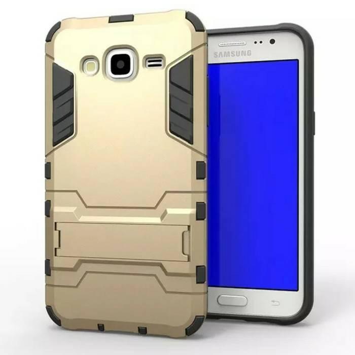 Samsung Galaxy J2 Prime |Hybrid Iron Man Armor Robot Ironman Hard Case