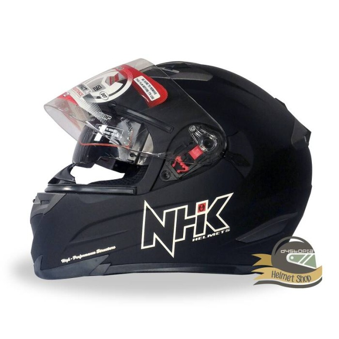 Foto Produk Helm NHK RX9 Black Doff dari Dystopia Helmet Shop