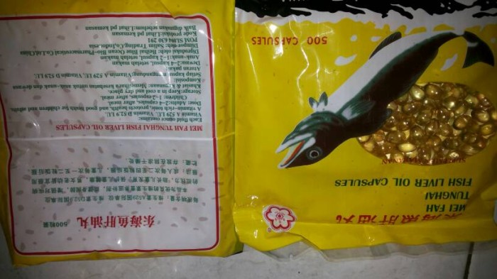harga Minyak ikan tung hai Tokopedia.com
