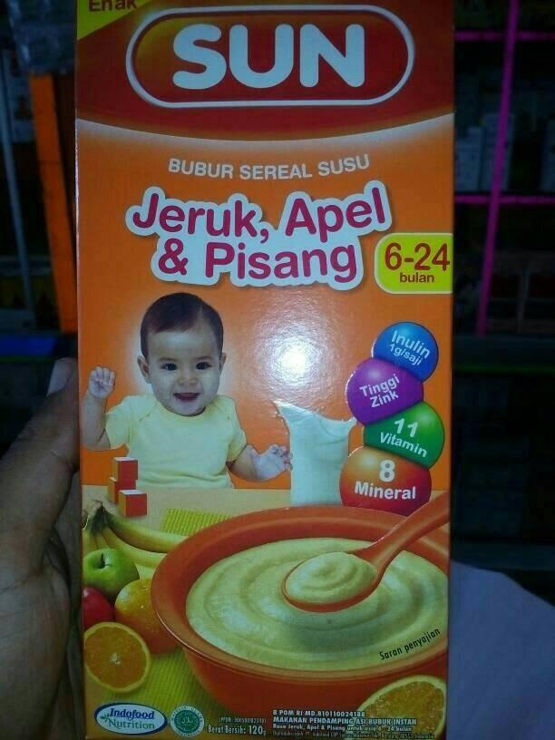 Jual Sun Bubur Bayi Rasa Jeruk Apel Amp Pisang Kab Jombang