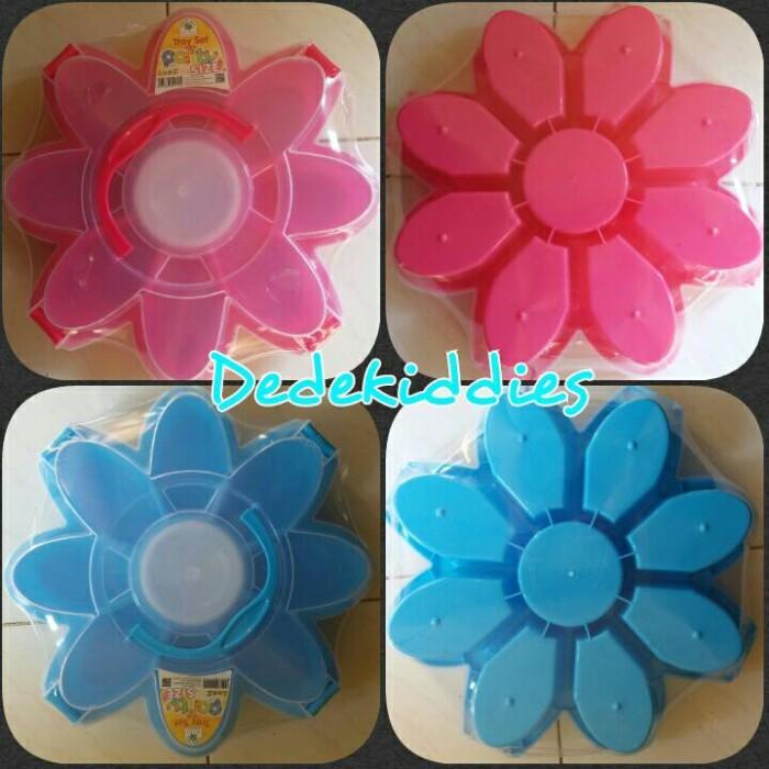 harga Marguerite tray set / wadah makanan / toples / motif bunga / greenleaf Tokopedia.com