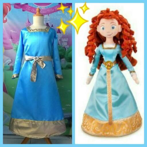 harga Merida princess kostum Tokopedia.com
