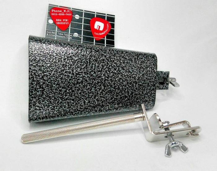 harga Cowbell plus holder set deluxe made in taiwan Tokopedia.com