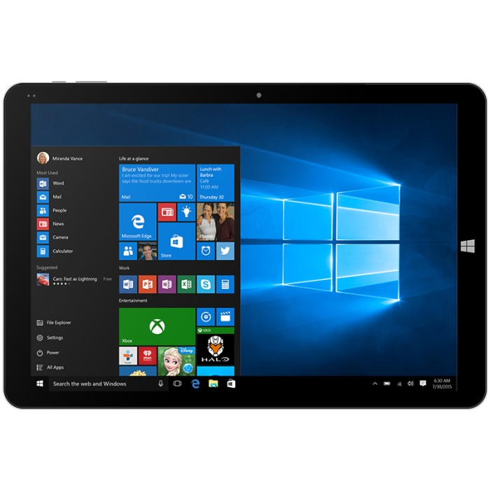 harga Chuwi hi12 12inch retina intel cherrytrail dual os tablet pc Tokopedia.com