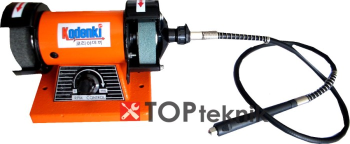 harga Mesin gurinda duduk mini bench grinder mini tuner kabel flexible 3 in Tokopedia.com